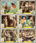 "Movie Posters:War, Cry Havoc (MGM, 1943). Lobby Cards (6) (11"" X 14""). War.. ...(Total: 6 Items)"