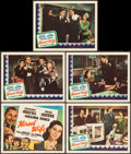 """Movie Posters:Comedy, Hired Wife (Universal, 1940). Title Lobby Card & Lobby Cards (4) (11"""" X 14""""). Comedy.. ... (Total: 5 Items)"""