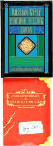 Books:Metaphysical & Occult, Svetlana Alexandrovna Touchkoff. Russian Gypsy Fortune Telling Cards. HarperSanFrancisco, [1992]. First Edition. Pub... (Total: 2 Items)