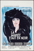 """Movie Posters:Foreign, The Bride Wore Black (United Artists, 1968). Belgian (14.5"""" X 21.75""""). Foreign.. ..."""