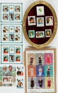 Miscellaneous:Ephemera, [Princess Diana]. [Philately]. Collection of International PostageStamps Depicting Princess Diana of Wales. ...