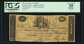 Obsoletes By State:Ohio, Warren, OH- The Western Reserve Bank Counterfeit $10 Aug. (?) 1,1814 C34 Wolka 2741-38. ...