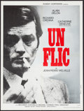 "Movie Posters:Foreign, Un Flic (Les Films Corona, 1972). French Affiche (23.5"" X 31.25""). Foreign.. ..."