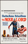 """Movie Posters:War, The War Lord & Others Lot (Universal, 1965). Window Cards (3)(14"""" X 22""""). War.. ... (Total: 3 Items)"""