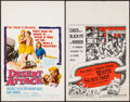 "Movie Posters:Adventure, White Slave Ship & Other Lot (American International, 1962).Window Cards (2) (14"" X 22""). Adventure.. ... (Total: 2 Items)"