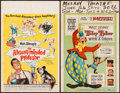 "Movie Posters:Comedy, The Absent-Minded Professor & Others Lot (Buena Vista, 1961). Window Cards (4) (14"" X 22""). Comedy.. ... (Total: 4 Items)"