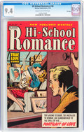 Golden Age (1938-1955):Romance, Hi-School Romance #30 File Copy (Harvey, 1954) CGC NM 9.4 Cream tooff-white pages....