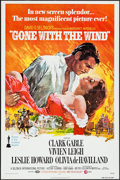 "Movie Posters:Academy Award Winners, Gone with the Wind (MGM, R-1974). One Sheet (27"" X 41""). AcademyAward Winners.. ..."
