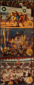 "Movie Posters:Adventure, The Last Days of Pompeii (RKO, 1935). Jumbo Lobby Cards (6) (14"" X17""). Adventure.. ... (Total: 6 Items)"