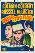 """Movie Posters:Adventure, Under Two Flags (20th Century Fox, R-1943). One Sheet (27"""" X 41"""").Adventure.. ..."""