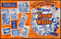 "Movie Posters:Animation, Snow White and the Seven Dwarfs (Buena Vista, R-1958/R-1965). Pressbooks (2) (Multiple Pages, 10.5"" X 13.5"" & 11"" X 14.75"").... (Total: 2 Items)"