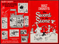 """The Sword in the Stone (Buena Vista, 1963). Uncut Pressbooks (2) (44 Pages, 12"""" X 18""""). Animation. ... (Total:..."""