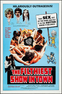 """The Filthiest Show in Town & Other Lot (William Mishkin Motion Pictures Inc., 1973). One Sheets (59) (27"""" X..."""
