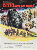 """Movie Posters:Science Fiction, Beneath the Planet of the Apes (20th Century Fox, 1970). FrenchGrande (46"""" X 62""""). Science Fiction.. ..."""