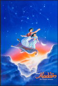 "Movie Posters:Animation, Aladdin (Buena Vista, 1992). One Sheets (2) (27"" X 40"" & 27"" X 41"") SS International Advance & DS Regular. Animation.. ... (Total: 2 Items)"