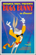 "Movie Posters:Animation, Bugs Bunny in Concert & Other Lot (Warner Brothers, 1990). One Sheets (2) (27"" X 40"" & 27"" X 41"") SS & DS. Animation.. ... (Total: 2 Items)"
