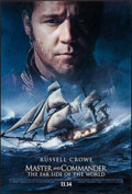 "Movie Posters:Adventure, Master and Commander (20th Century Fox, 2003). One Sheet (27"" X40"") SS Advance. Adventure.. ..."