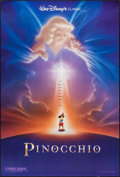 """Movie Posters:Animation, Pinocchio & Other Lot (Buena Vista, R-1992). One Sheets (27"""" X 40"""") DS Advance & Regular. Animation.. ... (Total: 2 Items)"""