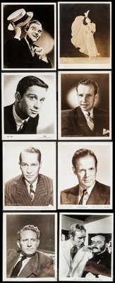 Hollywood Photo Lot (Various, 1930s-1970s). Portrait, Publicity, and Scene Photos (200+) (Various Sizes), & Mini Lob...