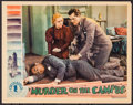 "Movie Posters:Mystery, Murder on the Campus (Chesterfield, 1933). Lobby Card (11"" X 14"").Mystery.. ..."