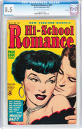 Golden Age (1938-1955):Romance, Hi-School Romance #31 File Copy (Harvey, 1954) CGC VF+ 8.5 Lighttan to off-white pages....