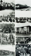 Books:Prints & Leaves, [Russian Revolution]. Archive of Approximately 110 PhotographsRelating to the Russian Revolution (1917-1921). Most measurin...
