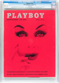 Magazines:Vintage, Playboy V6#8 (HMH Publishing, 1959) CGC VF+ 8.5 White pages....