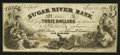 Obsoletes By State:New Hampshire, Newport, NH- Sugar River Bank Counterfeit $3 Dec. 10, 1864. ...