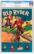 Golden Age (1938-1955):Western, Red Ryder Comics #13 File Copy (Dell, 1943) CGC NM 9.4 Cream to off-white pages....