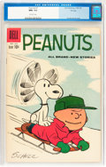 Silver Age (1956-1969):Humor, Peanuts #7 (Dell, 1960) CGC NM+ 9.6 Off-white pages....