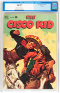 Golden Age (1938-1955):Western, The Cisco Kid #4 File Copy (Dell, 1951) CGC NM 9.4 Cream tooff-white pages....