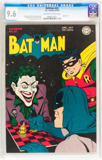 Batman #23 (DC, 1944) CGC NM+ 9.6 Off-white to white pages