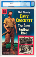 Golden Age (1938-1955):Western, Four Color #664 Davy Crockett - File Copy (Dell, 1955) CGC NM 9.4White pages....