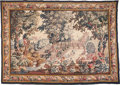 , A FLEMISH BAROQUE-STYLE VERDURE LANDSCAPE TAPESTRY, 19th century.83 inches high x 120 inches wide (210.8 x 304.8 cm). ...
