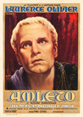 "Movie Posters:Drama, Hamlet (Eagle Lion Films, 1948). Italian 2 - Foglio (39"" X 55"").Drama.. ..."
