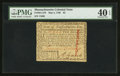 Colonial Notes:Massachusetts, Uncancelled Massachusetts May 5, 1780 $2 PMG Extremely Fine 40EPQ.. ...