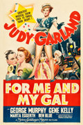 "Movie Posters:Musical, For Me and My Gal (MGM, 1942). One Sheet (27"" X 40.5"") Style C....."
