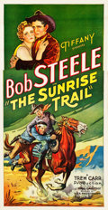 "Movie Posters:Western, The Sunrise Trail (Tiffany, 1931). Three Sheet (41"" X 79"").. ..."