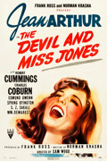 "Movie Posters:Comedy, The Devil and Miss Jones (RKO, 1941). One Sheet (27.5"" X 41"").. ..."