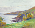 Works on Paper, EDOUARD-LÉON CORTÈS (French, 1882-1969). Port Mabo, 1924. Gouache on paper laid on board. 9-1/2 x 11-3/4 inches (24.1 x ...