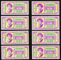 Military Payment Certificates:Series 541, Series 541 5¢ Eight Examples Gem New.. ... (Total: 8 notes)