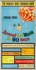 "Movie Posters:Adventure, Around the World in 80 Days (United Artists, 1956). Three Sheet(41"" X 79""). Adventure.. ..."