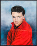"Movie Posters:Elvis Presley, Elvis Presley by June Kelly (RCA, 1965). Record Promotional Poster(16"" X 20""). Elvis Presley.. ..."