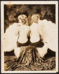 """Movie Posters:Miscellaneous, The Scott Sisters in George White's Scandals by Alfred Cheney Johnston (ca. 1920s). Portrait Photo (11"""" X 14""""). Miscellaneou..."""