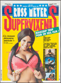 "Movie Posters:Sexploitation, Supervixens (RM Films, 1975). French Grande (45.5"" X 62"").Sexploitation.. ..."