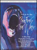 "Movie Posters:Rock and Roll, Pink Floyd: The Wall (Cineposter, 1982). French Petite (15.25"" X21""). Rock and Roll.. ..."