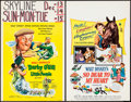"Movie Posters:Fantasy, Darby O'Gill and the Little People & Others Lot (Buena Vista,1959). Window Cards (5) (14"" X 22""). Fantasy.. ... (Total: 5 Items)"
