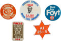 Miscellaneous Collectibles:General, 1960s-90s A.J. Foyt and Other Racing Related Pinback Buttons Lot of68...
