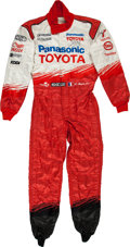 Miscellaneous Collectibles:General, 2003-04 Oliver Panis Race Worn Fire Suit....