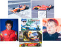 Miscellaneous Collectibles:General, 1995-2013 Indianapolis Lights Driver Signed Photographs Lot of125....